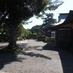 ちょっと登って大洗磯前神社へ