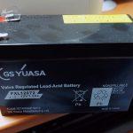 たぶん秋月電子で買った台湾製 GSユアサ