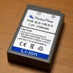 膨らんで充電しなくなったBLS-5互換バッテリー